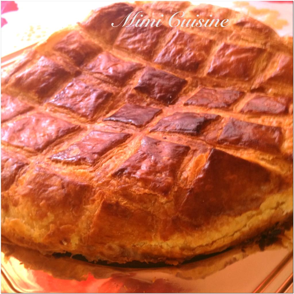 Galette des rois frangipane recette thermomix mimi cuisine - Decor galette des rois ...