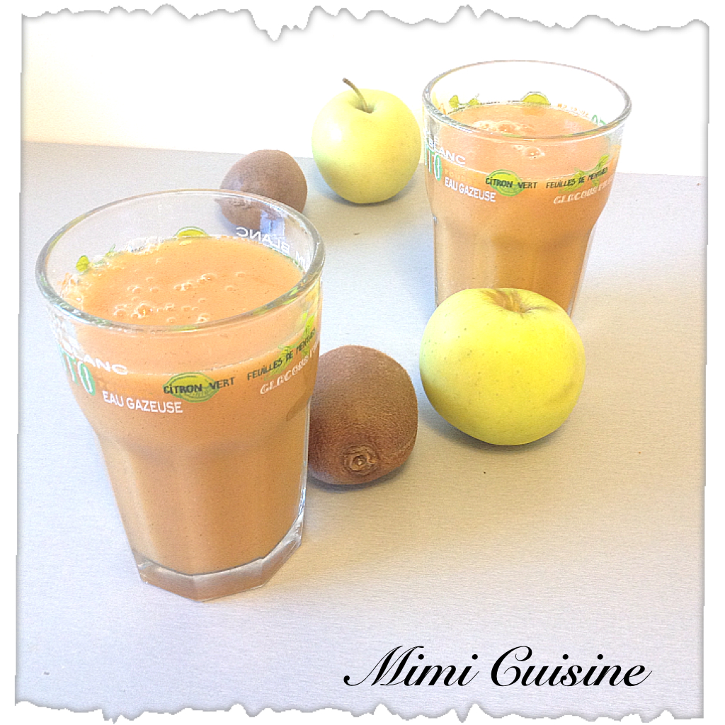 jus de fruit pomme kiwi carotte recette thermomix mimi cuisine. Black Bedroom Furniture Sets. Home Design Ideas