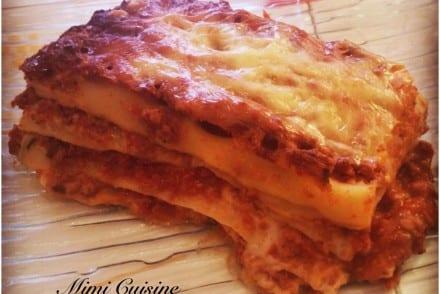 Lasagne bolognaise Recette Thermomix