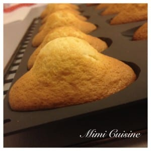 Madeleines Recette Thermomix