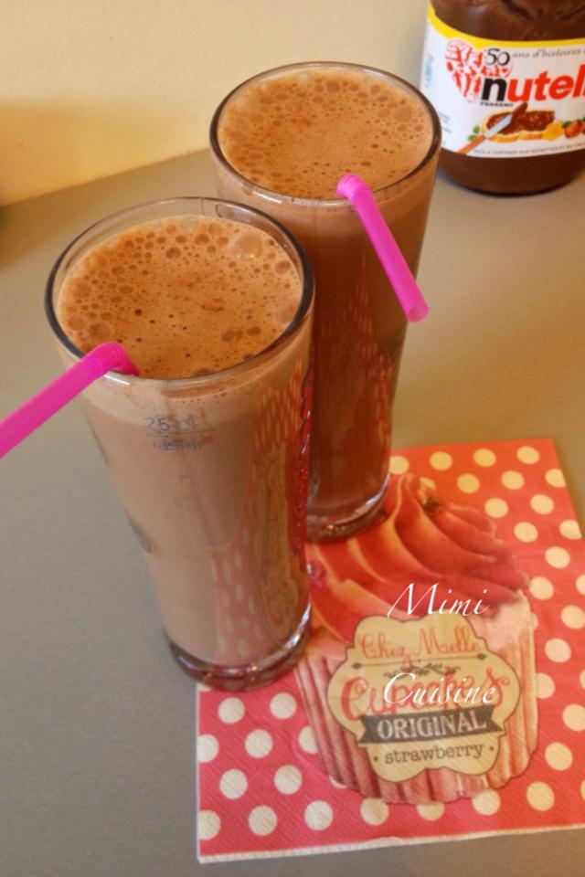Milk shake Nutella Recette Thermomix
