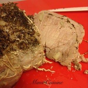 Rôti de porc au lait Recette Thermomix