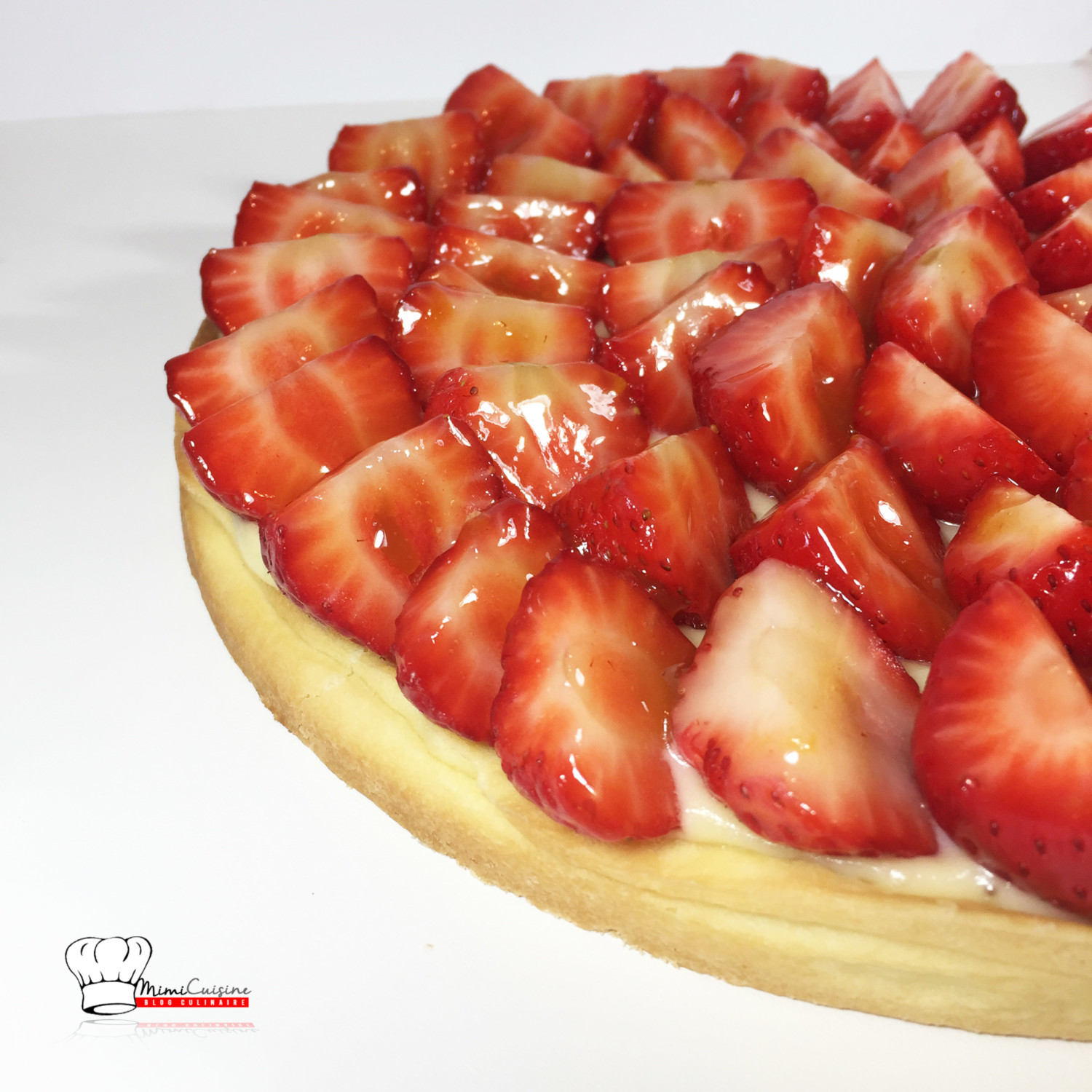 tarte aux fraises recette thermomix mimi cuisine. Black Bedroom Furniture Sets. Home Design Ideas