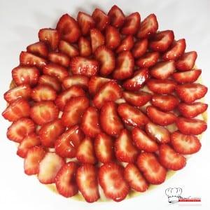 Tarte aux fraises Recette Thermomix