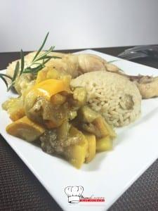 Tiebou poulet Recette Cookeo