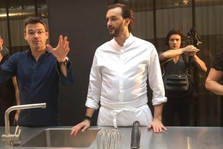 Atelier cuisine avec Cyril Lignac et Hotpoint