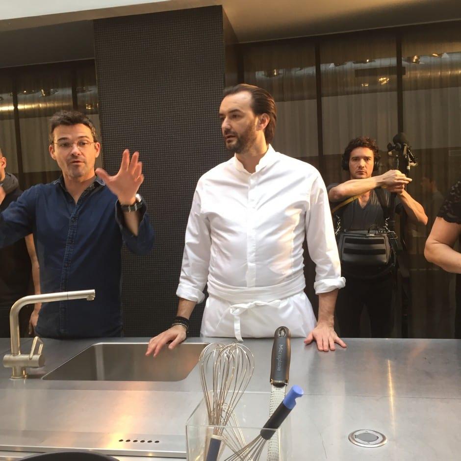 Atelier Cuisine Avec Cyril Lignac Et Hotpoint Mimi Cuisine - Cours de cuisine paris cyril lignac