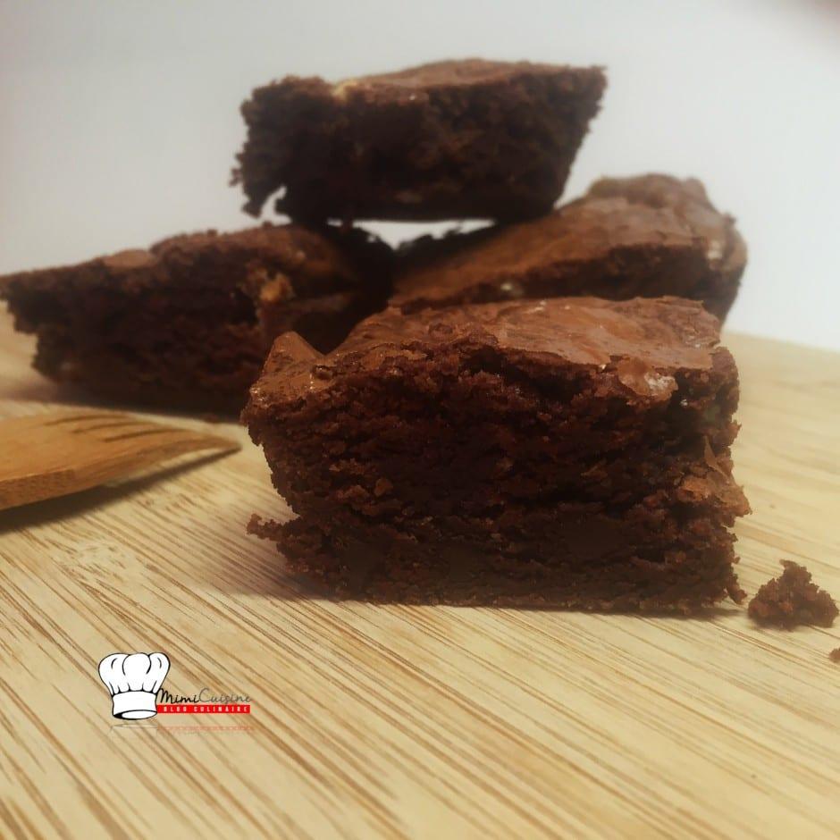 Brownie pépites de chocolat blanc et noir Recette Companion