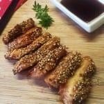 Poulet au miel épices et sésame