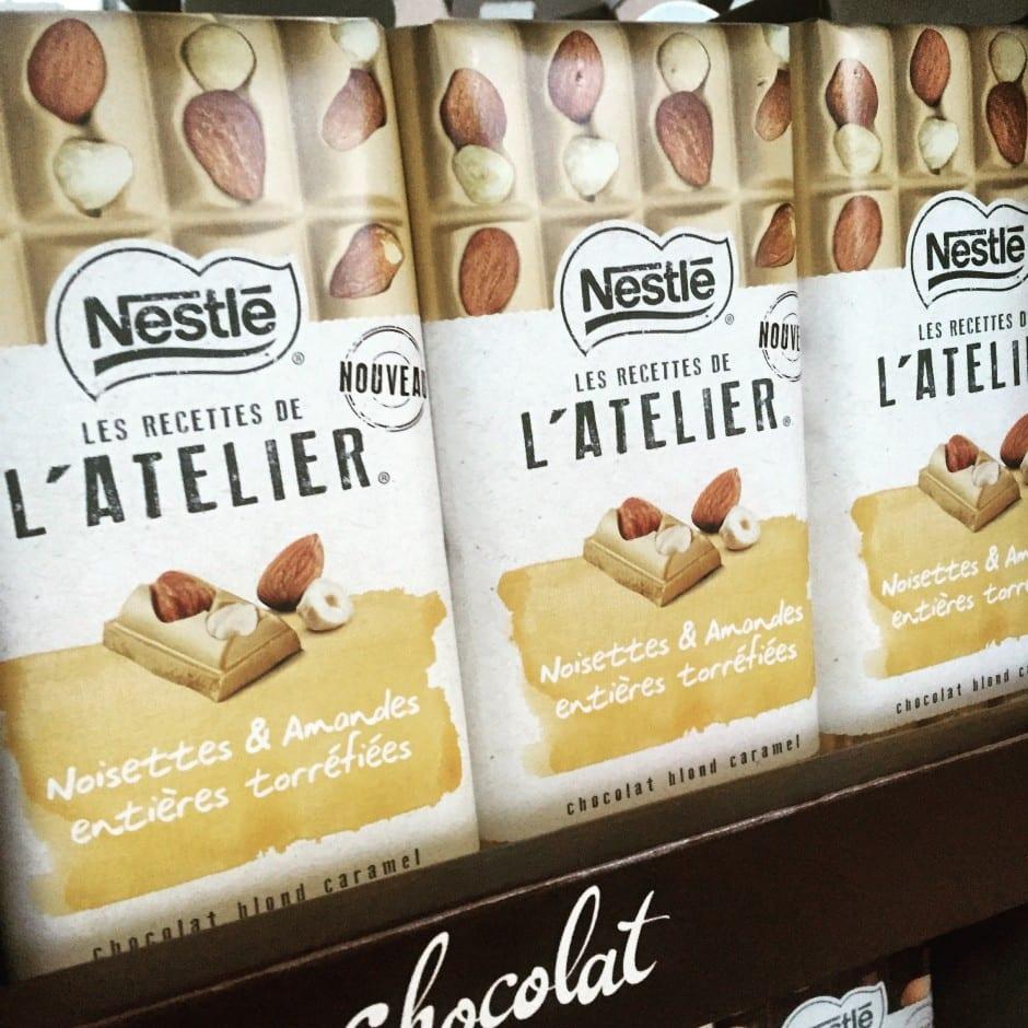 Les Recettes de L'Atelier chez Nestlé