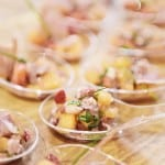 Salade fraîcheur Melon Fraise et jambon cru