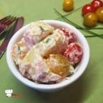 Salade de pommes de terre Yaourt et ciboulette