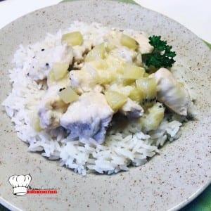 Recette sucrée salée Poulet au Kiwi Zespri SunGold