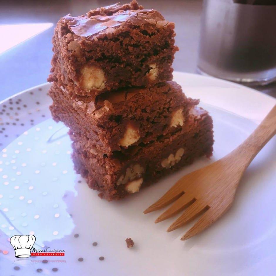 Brownie Chocolat noir et Amande Noix de Pecan et Crunchy Chocolat Amande