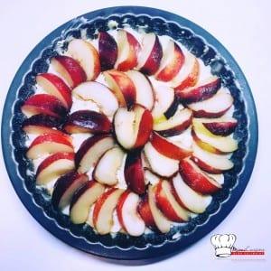Tarte briochée aux nectarines Recette Companion