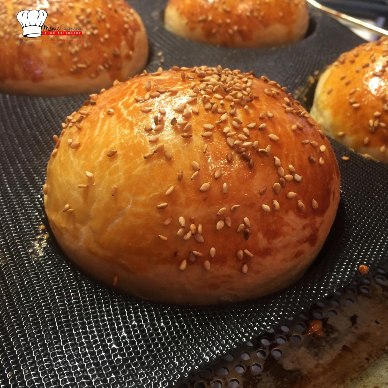 Pains burgers brioch s recette companion mimi cuisine - Recette cuisine france 2 telematin ...