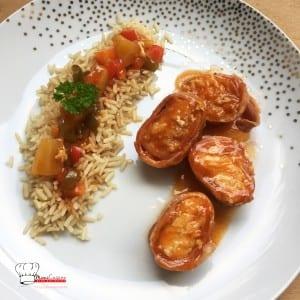 Rôti de Cabillaud sauce aigre douce Recette Cookeo