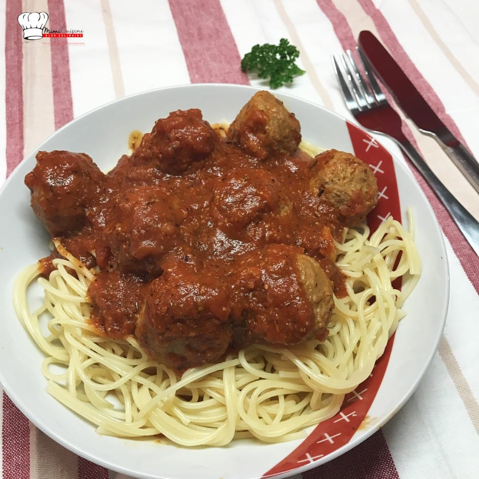 Boulettes de bœuf sauce tomate Recette Companion