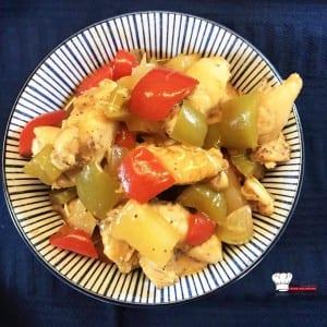 Poulet sauce aigre douce Recette Companion