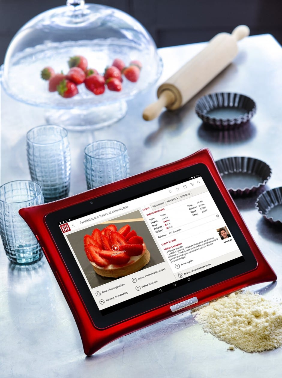 Tablette culinaire qooq test avis et impressions mimi for Tablette cuisine