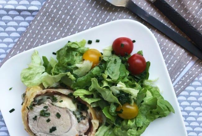 Filet Mignon en Croûte Jambon de Pays et Mozzarella