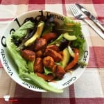 Salade Composée Tomate Avocat Dinde Le Gaulois