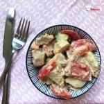 Salade de Pomme de Terre Thon Tomate Avocat