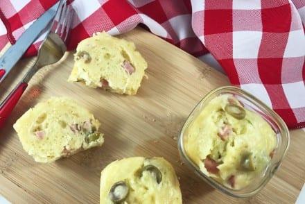 Cakes jambon et olives Recette MultiDélices