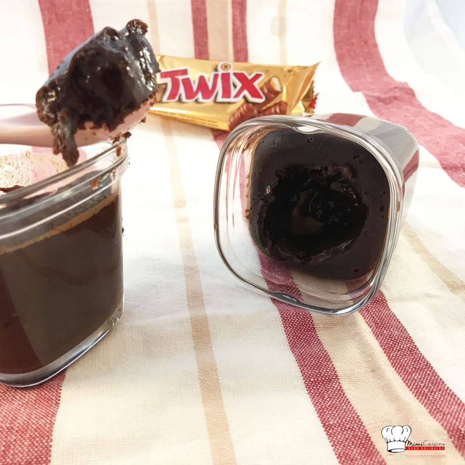 Fondants chocolat et Twix Recette MultiDélices