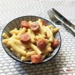 Macaroni au Beaufort et aux Knacki Recette Cookeo