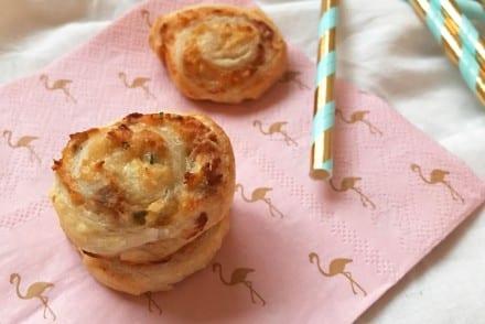 Feuilletés apéritif au Thon Parmesan et Piment d'Espelette