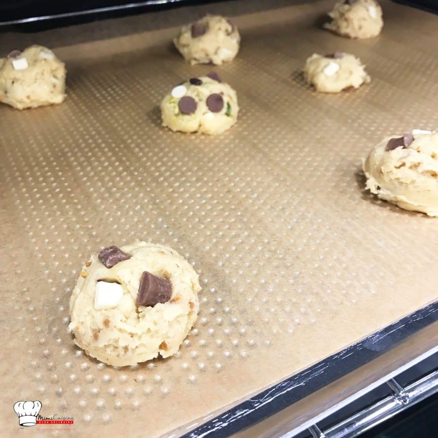 Cookies Pralin chocolat Lait Blanc et Cookies Pistache Chocolats