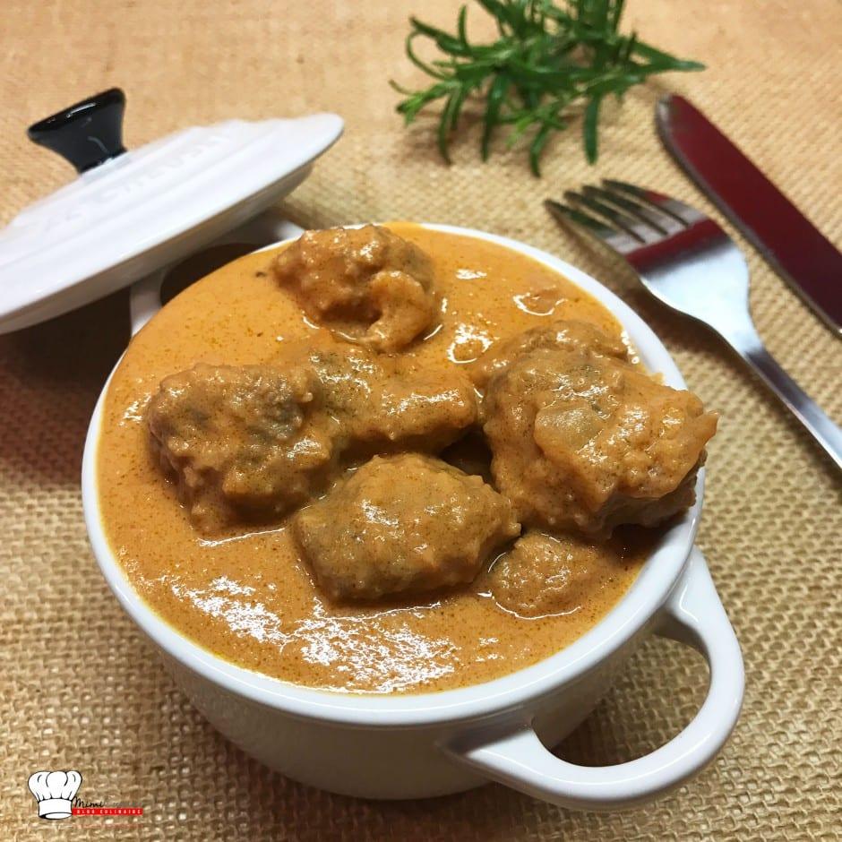 Boulettes de boeuf au beurre de cacahu te recette cookeo mimi cuisine - Recette de noel au cookeo ...