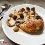 Suprêmes de Pintade aux Cèpes sauce Vin Blanc Recette Cookeo