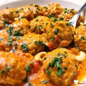 Boulettes de viande à l'indienne Recette Cookeo