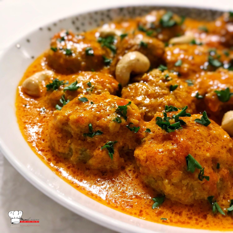 Boulettes de viandes à l'indienne Recette Cookeo - Mimi Cuisine