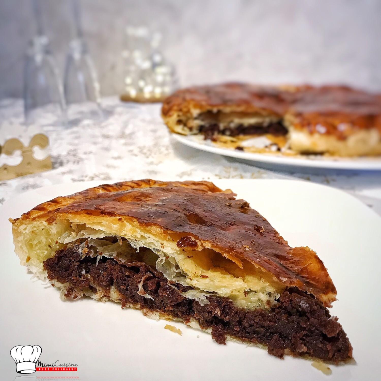 galette des rois au chocolat recette companion mimi cuisine. Black Bedroom Furniture Sets. Home Design Ideas