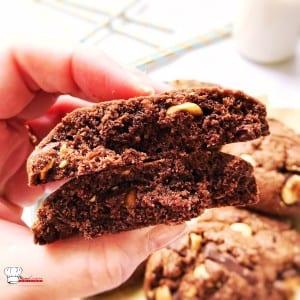 Cake Noisettes P Ef Bf Bdpites Chocolat