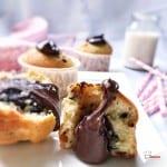 Muffins Pépites de Chocolat Coeur coulant Nutella Recette Companion