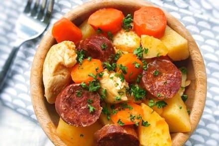 Poulet Pomme de Terre Chorizo Recette Cookeo
