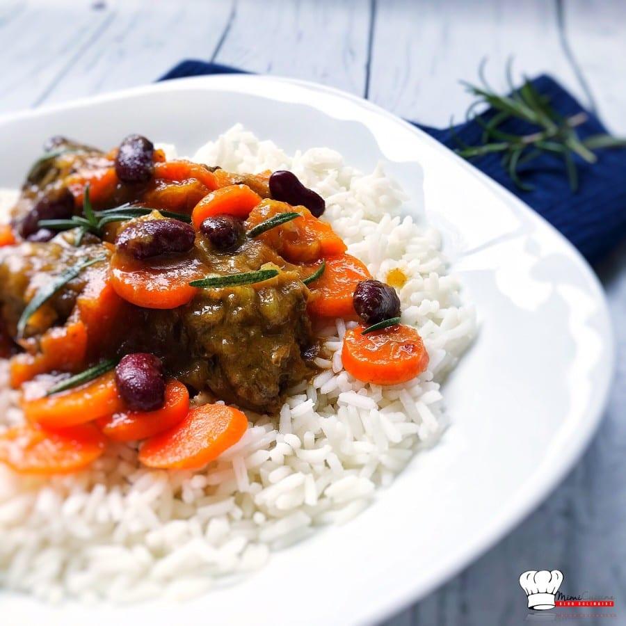 Curry de boeuf Haricots Rouges Carottes Recette Cookeo