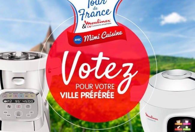 Tour de France Moulinex - Votez pour votre ville