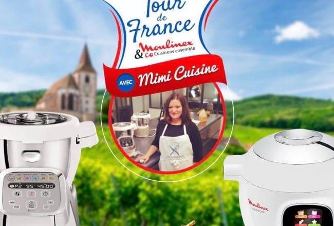 Ambassadrice du Tour de France - Moulinex s'invite près de chez vous