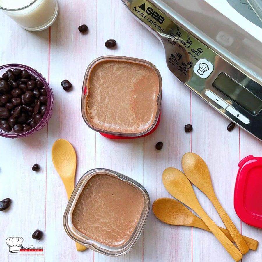 Yaourts Au Chocolat Multi Delices Express Compact Seb Mimi Cuisine