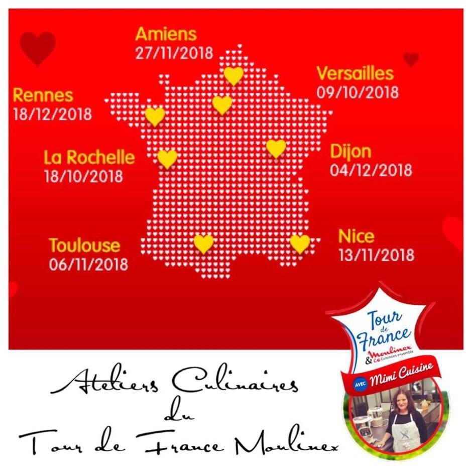 Concept 2018 du Tour de France Moulinex