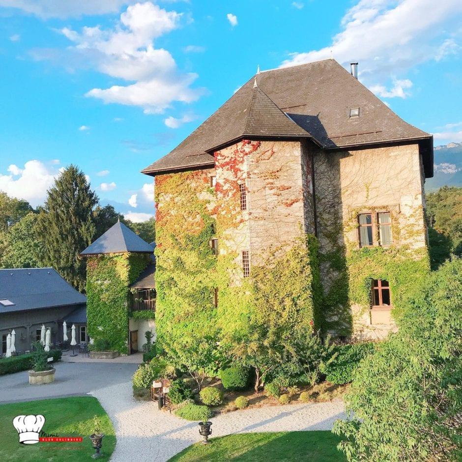 Voyage à Chambéry au Château de Candie avec Madame vacances