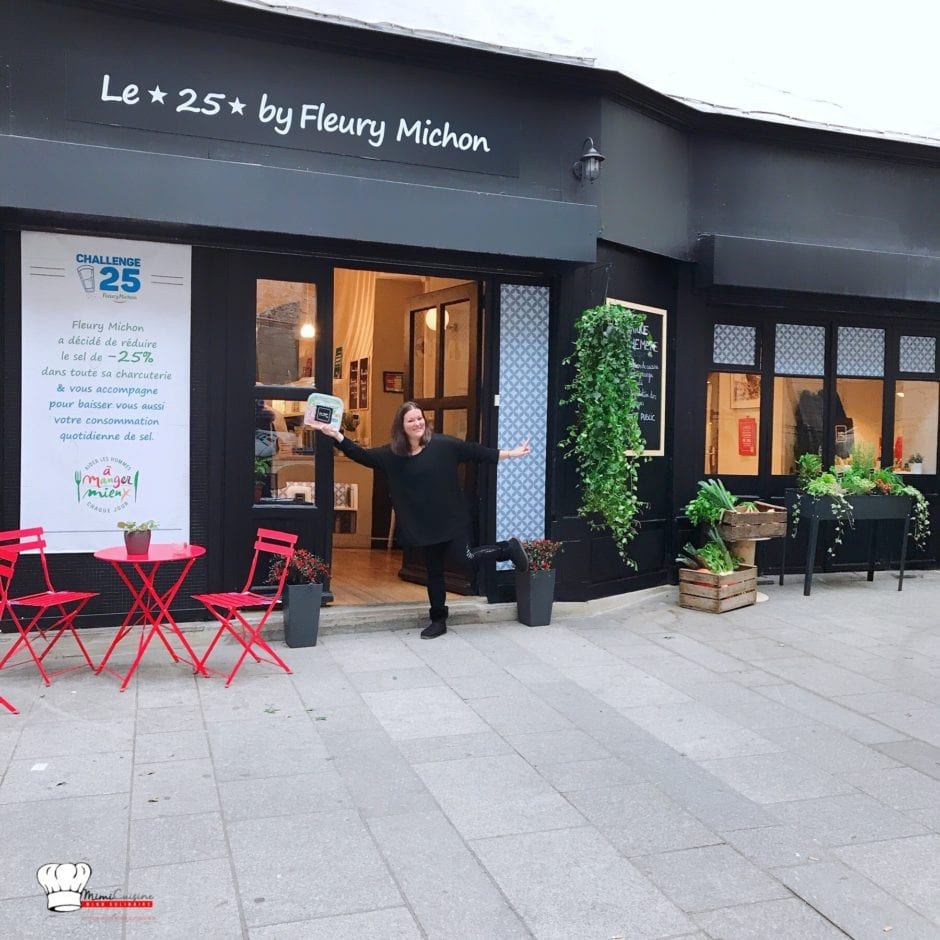 Boutique éphémère Le 25 By Fleury Michon