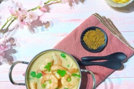 Curry de crevettes Recette Companion