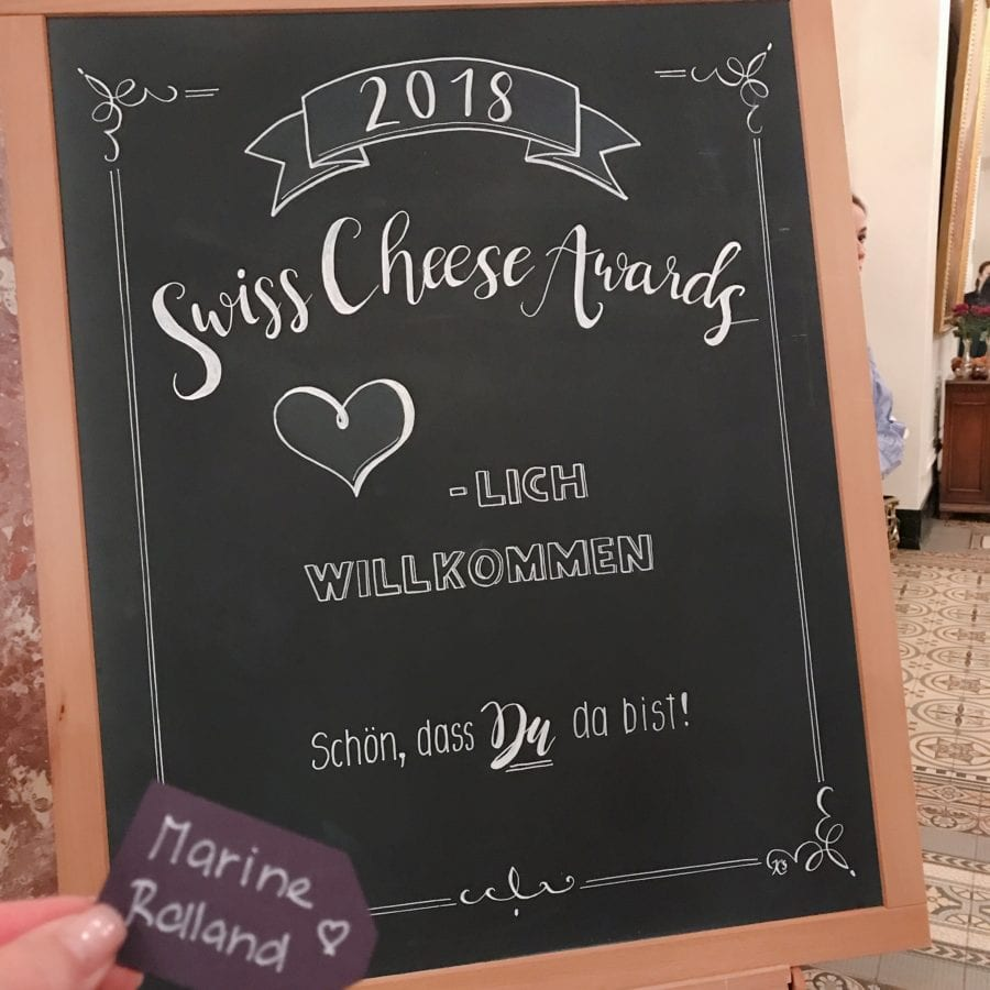 Swiss Cheese Awards 2018 à Lucerne en Suisse