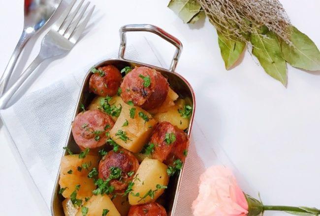 diots de savoie et pommes de terre
